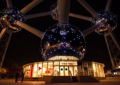 Atomium - Bruxelles novembre 2015