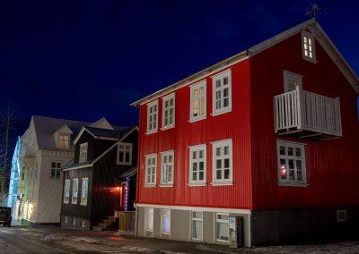 La maison rouge - Reykjavick