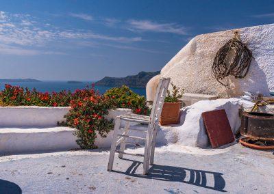 terrasse (oia) grèce avril 2015