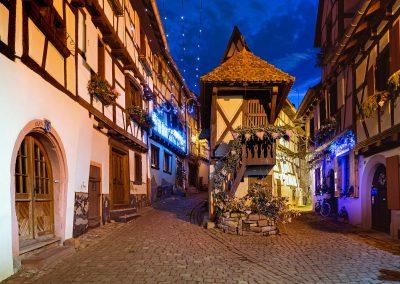 Eguisheim (Alsace) Noel - 24 décembre 2015