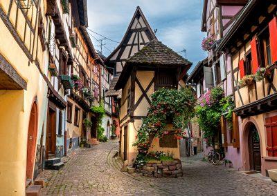 La maison la plus connue d'Alsace - Eguisheim aout 2017