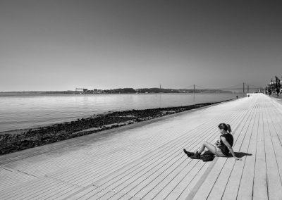 La relaxation en bord de Taje - Lisbonne_