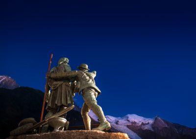 Le chemin vers le Mont blanc par Horace-Bénédict de Saussure - Chamonix juillet 2012 _