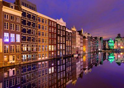 Les reflets d'Amsterdam - aout 2015