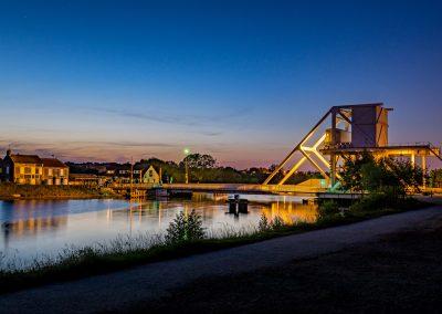 Pégasus bridge (le pont qu'il fallait prendre le 6 juin 1944) - Bénouville 16 mai 2014 _