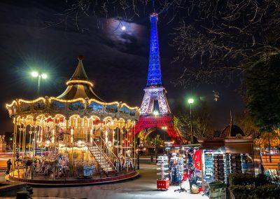 Paris , Trocadéro 23 novembre 2015