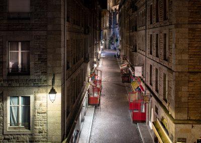 Rue principale de Saint-Malo