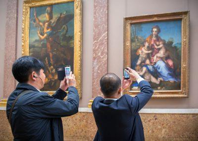 double tableau - Le Louvre (Paris) 2013