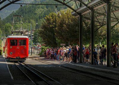 funiculaire de Montenvers - Chamonix juillet 2012