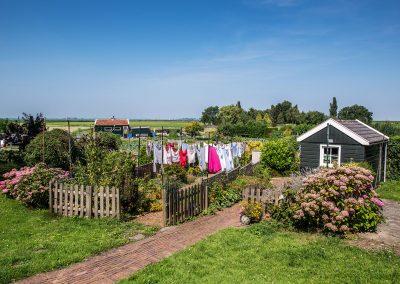 petit jardin de Marken island - aout 2015